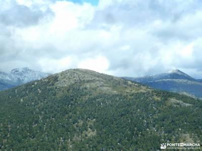 La Peñota-Valle de Fuenfría; parque natural las batuecas rutas senderismo cantabria marcos y cordero